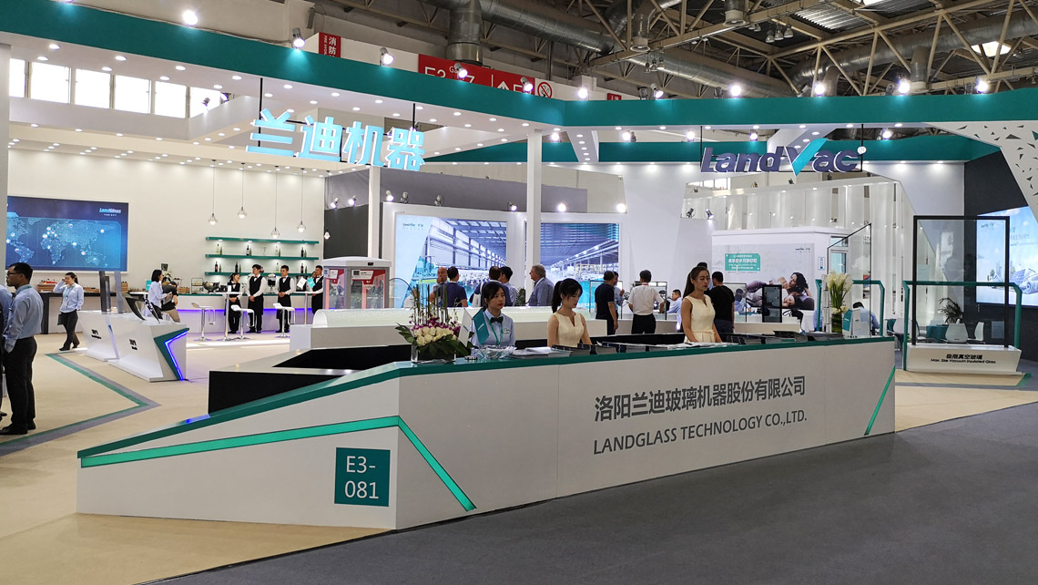 AMV Design Landglass Chinaglass 2019展位 exposition stand boot Beijing Pekin fair