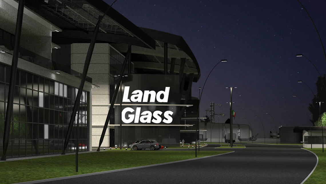 Landglass 兰迪机器 , 建筑物外观 , 建筑, 建筑设计图 Exteriors design architecture constructive development