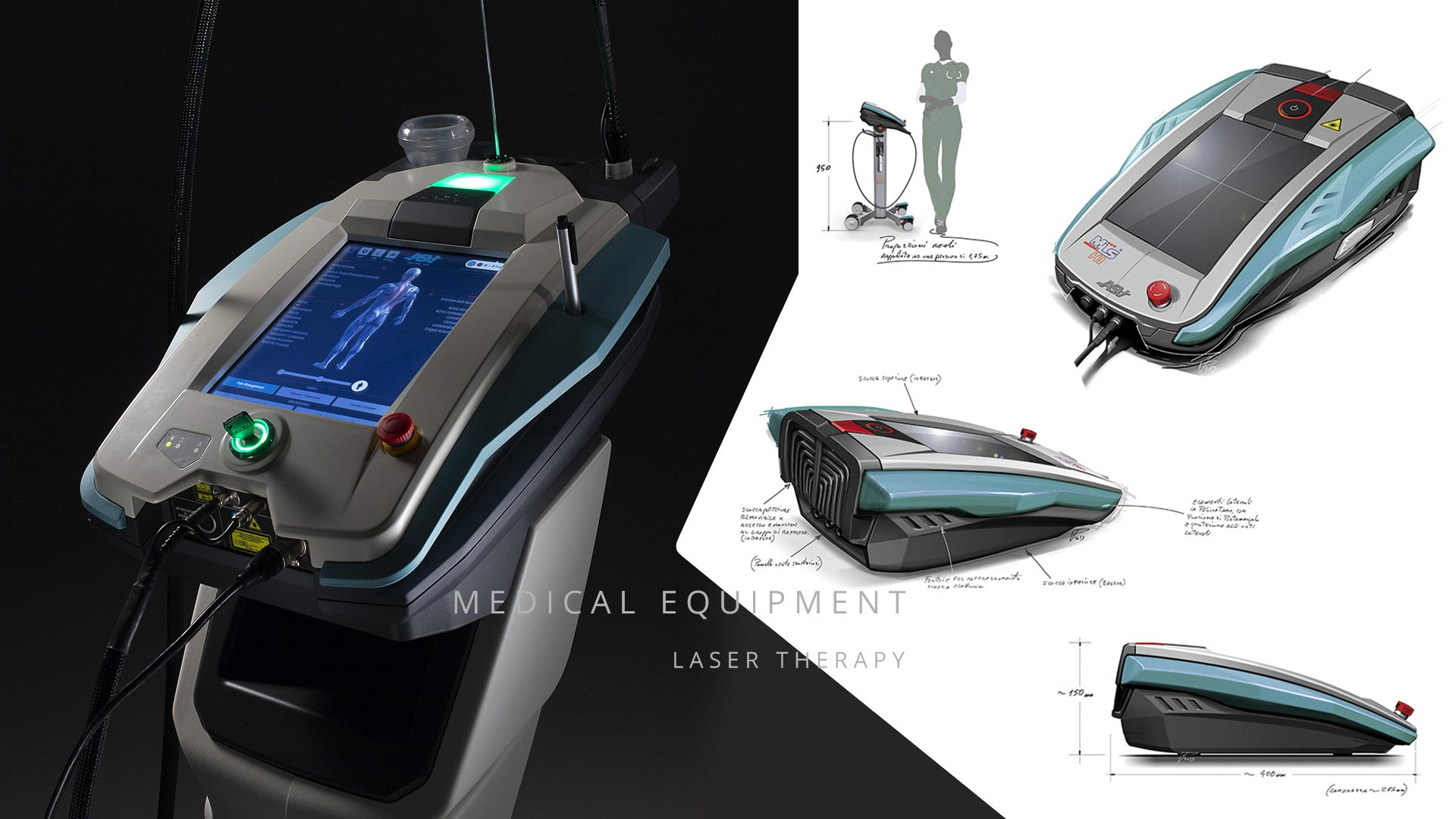 AMV Design Medical Equipment: Laser Therapy