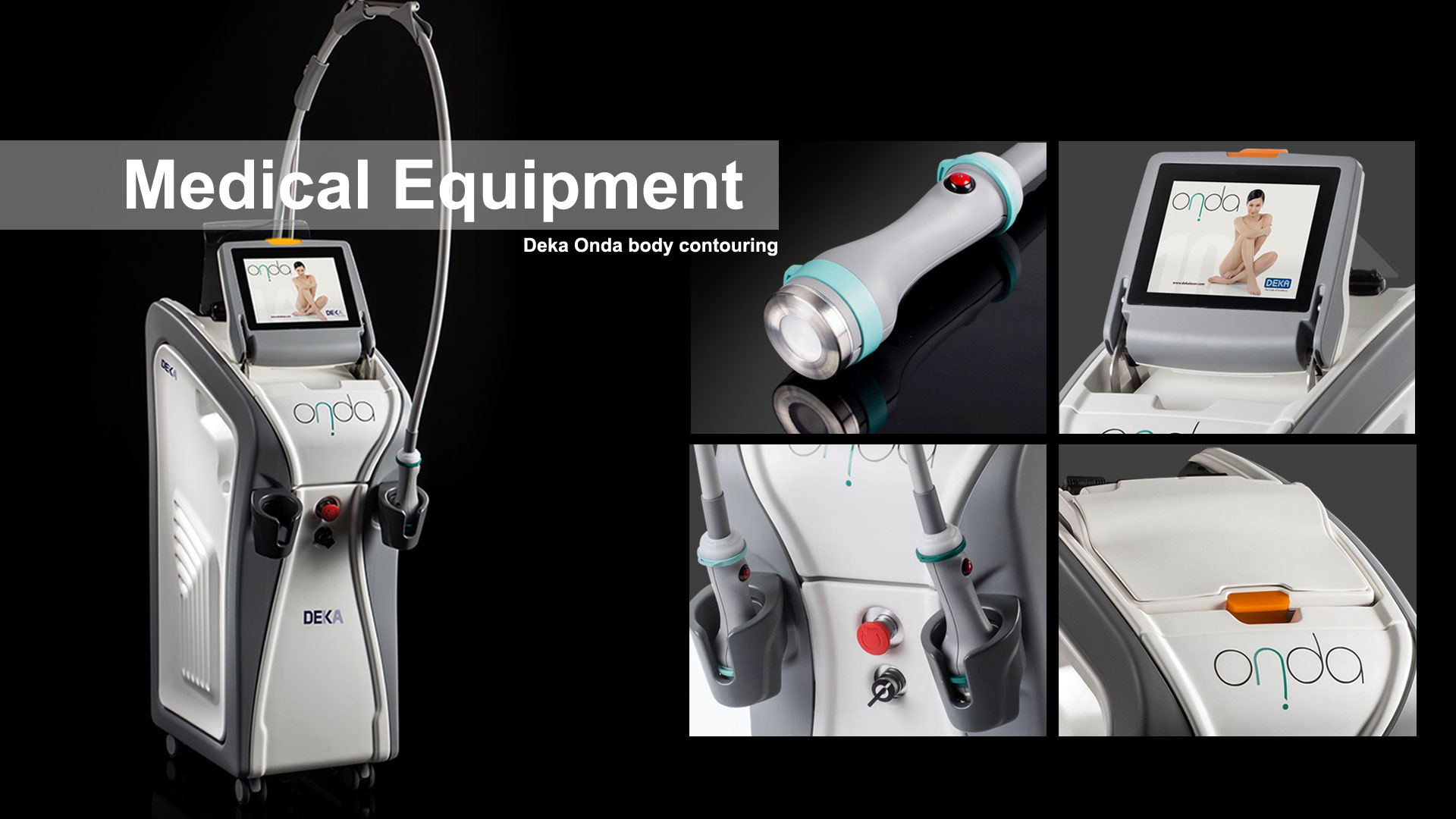 AMV Design Deka Elen Onda Medical Aesthetical Device